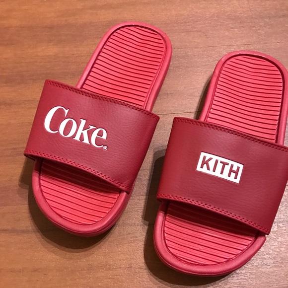 4d76c80860 Kith Shoes | X Coke Sandalsslides | Poshmark